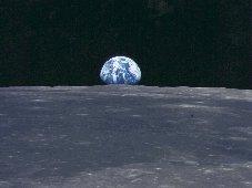 Lever de Terre depuis la Lune