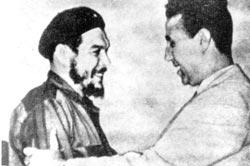 Che Guevara et Ben Bella